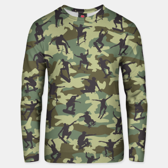 Thumbnail image of Skater Camo WOODLAND Cotton sweater, Live Heroes