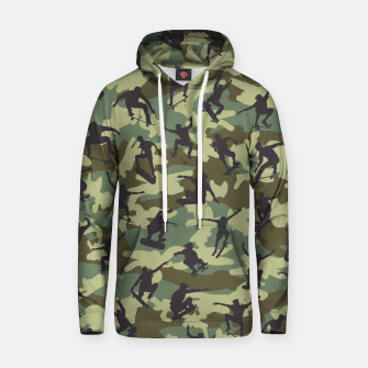 Thumbnail image of Skater Camo WOODLAND Cotton hoodie, Live Heroes