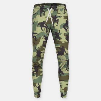 Thumbnail image of Skater Camo WOODLAND Cotton sweatpants, Live Heroes