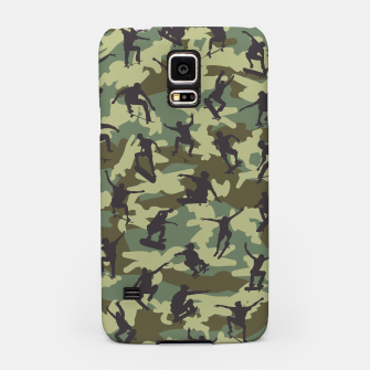 Thumbnail image of Skater Camo WOODLAND Samsung Case, Live Heroes