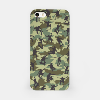 Thumbnail image of Skater Camo WOODLAND iPhone Case, Live Heroes