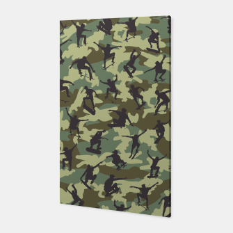 Thumbnail image of Skater Camo WOODLAND Canvas, Live Heroes