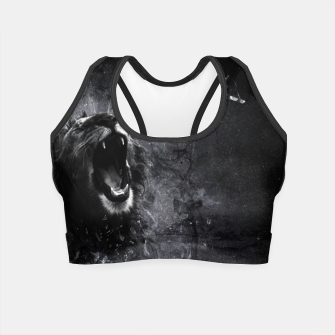 Thumbnail image of Dark Lion Crop Top, Live Heroes