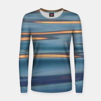 Thumbnail image of Lights on the Water |  Woman cotton sweater, Live Heroes