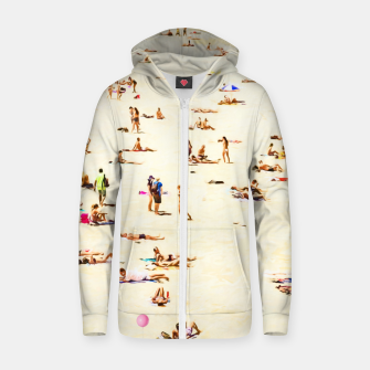 Thumbnail image of Summer w Cotton zip up hoodie, Live Heroes