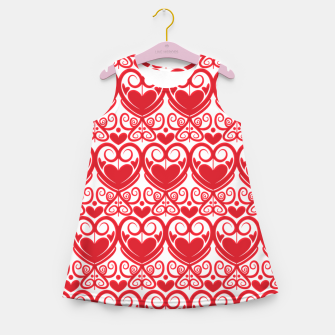 Thumbnail image of Queen of Hearts Girl's Summer Dress, Live Heroes