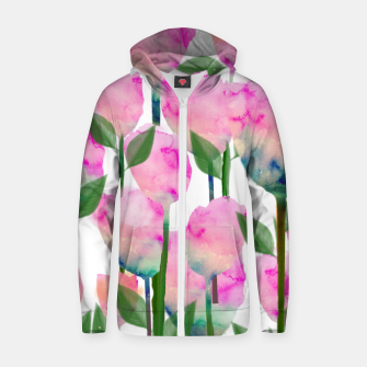 Thumbnail image of Inspire Cotton zip up hoodie, Live Heroes