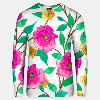 Thumbnail image of Floral Forever Cotton sweater, Live Heroes