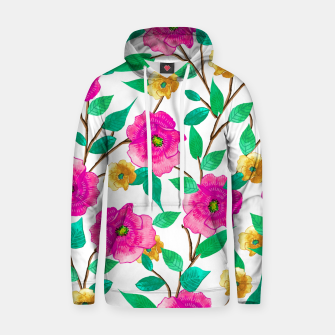 Thumbnail image of Floral Forever Cotton hoodie, Live Heroes