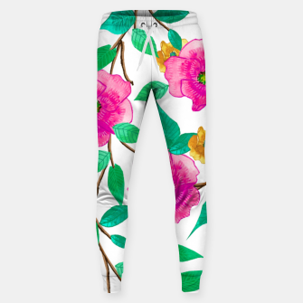 Thumbnail image of Floral Forever Cotton sweatpants, Live Heroes