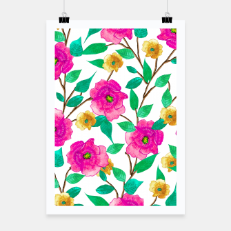 Thumbnail image of Floral Forever Poster, Live Heroes