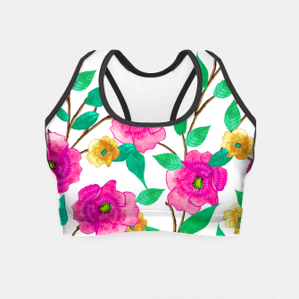 Thumbnail image of Floral Forever Crop Top, Live Heroes