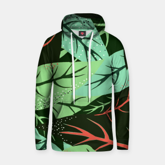 Thumbnail image of Jungle V2 Cotton hoodie, Live Heroes