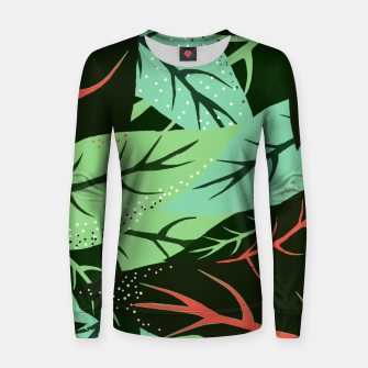 Thumbnail image of Jungle V2 Woman cotton sweater, Live Heroes