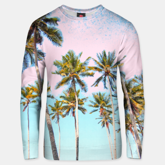 Thumbnail image of Coconut Palms Cotton sweater, Live Heroes
