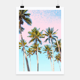 Thumbnail image of Coconut Palms Poster, Live Heroes