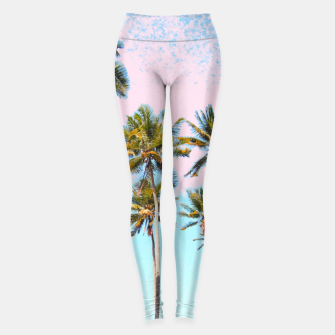 Thumbnail image of Coconut Palms Leggings, Live Heroes