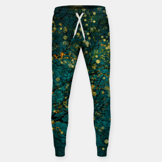 Thumbnail image of Abstract Night Tree Digital Art Cotton sweatpants, Live Heroes