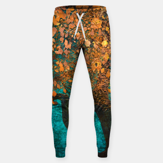 Thumbnail image of Abstract  Flower Tree Digital art Cotton sweatpants, Live Heroes