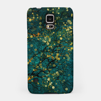 Thumbnail image of Abstract Night Tree Digital Art Samsung Case, Live Heroes