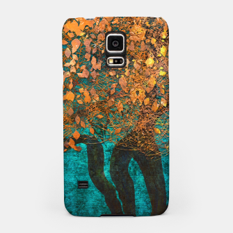 Thumbnail image of Abstract  Flower Tree Digital art Samsung Case, Live Heroes