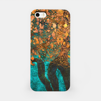 Thumbnail image of Abstract  Flower Tree Digital art iPhone Case, Live Heroes