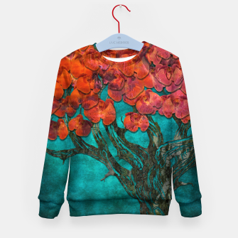 Thumbnail image of Abstract  Flower Tree Digital art Kid's sweater, Live Heroes