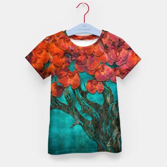 Thumbnail image of Abstract  Flower Tree Digital art Kid's t-shirt, Live Heroes