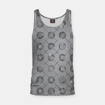 Thumbnail image of Silver Double Happiness Symbol pattern Tank Top, Live Heroes