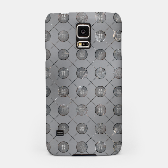 Thumbnail image of Silver Double Happiness Symbol pattern Samsung Case, Live Heroes