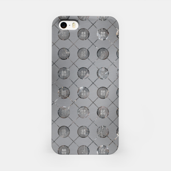 Thumbnail image of Silver Double Happiness Symbol pattern iPhone Case, Live Heroes