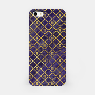 Thumbnail image of Gold Chinese Double Happiness Symbol pattern on amethyst iPhone Case, Live Heroes