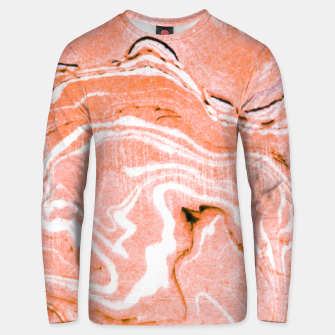 Thumbnail image of Coral Blush Marble Cotton sweater, Live Heroes