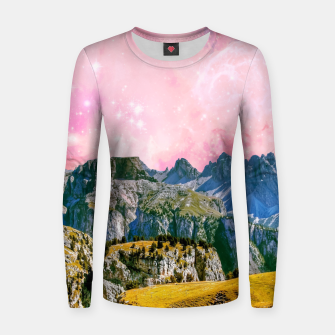 Thumbnail image of Small World Woman cotton sweater, Live Heroes