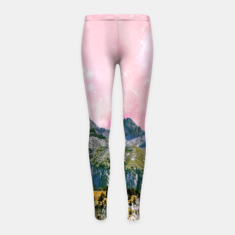 Thumbnail image of Small World Girl's leggings, Live Heroes