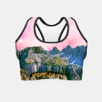 Thumbnail image of Small World Crop Top, Live Heroes