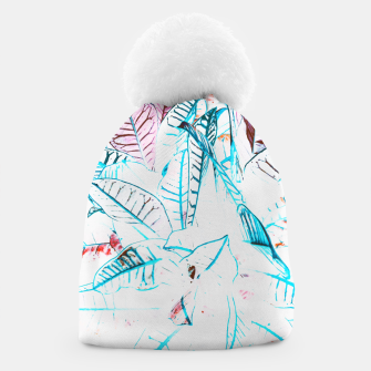 Thumbnail image of Botanical Detail Beanie, Live Heroes