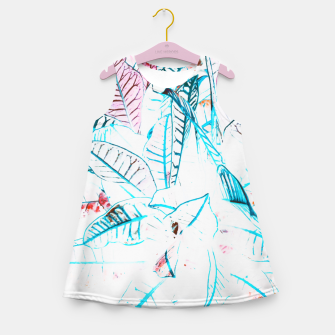 Thumbnail image of Botanical Detail Girl's summer dress, Live Heroes