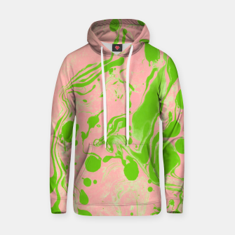 Thumbnail image of Blush + Greenery Cotton hoodie, Live Heroes