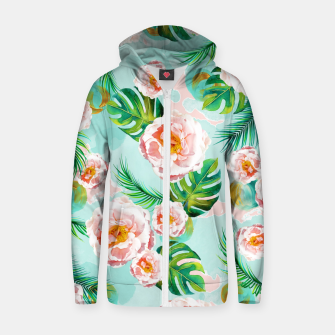 Thumbnail image of Blessing Cotton zip up hoodie, Live Heroes