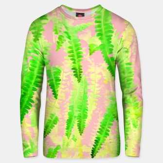 Thumbnail image of Blush Green Glow Cotton sweater, Live Heroes