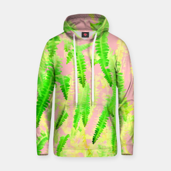 Thumbnail image of Blush Green Glow Cotton hoodie, Live Heroes