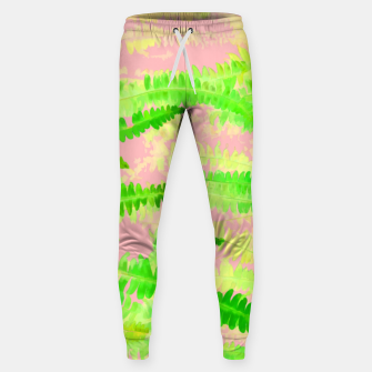 Thumbnail image of Blush Green Glow Cotton sweatpants, Live Heroes