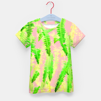 Thumbnail image of Blush Green Glow Kid's t-shirt, Live Heroes