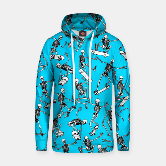 Grim Ripper BLUE Cotton hoodie thumbnail image