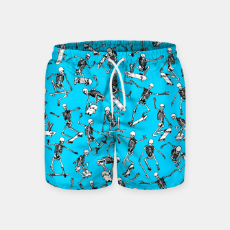 Grim Ripper BLUE Swim Shorts thumbnail image