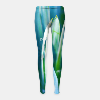 Thumbnail image of Heart of Nature Girl's leggings, Live Heroes