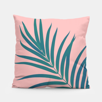 Thumbnail image of Tropical Palm Leaf #3 #botanical #decor #art Kissen, Live Heroes