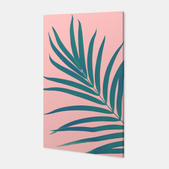 Thumbnail image of Tropical Palm Leaf #3 #botanical #decor #art Canvas, Live Heroes