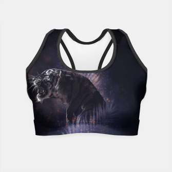 Thumbnail image of Dusty Tiger Crop Top, Live Heroes